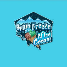 #28 for Develop a Sign for Brain Freeze NiceCream by Plastmass
