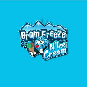 #34 for Develop a Sign for Brain Freeze NiceCream by Plastmass