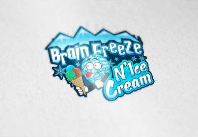 #35 for Develop a Sign for Brain Freeze NiceCream by Plastmass