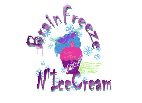 #32 for Develop a Sign for Brain Freeze NiceCream by Saya1eeSawant