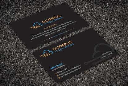 #125 for Design some Business Cards for an IT company af aminur33