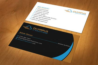 #24 for Design some Business Cards for an IT company af mdahmed2549