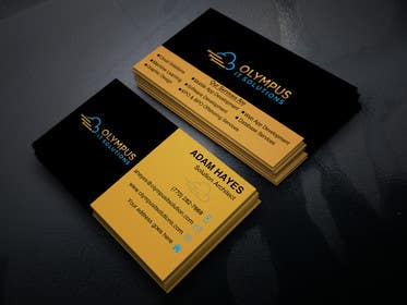 #143 for Design some Business Cards for an IT company af sraton777