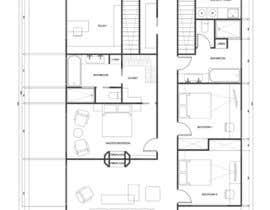 mishineva tarafından Floor Plan Redesign for 2 Rooms için no 16