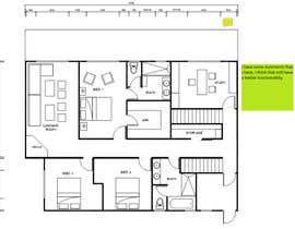 lfernanda tarafından Floor Plan Redesign for 2 Rooms için no 4