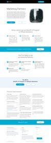 #1 para Design a One Page Website Mockup for an Affiliate Program por sipkovszkirbert