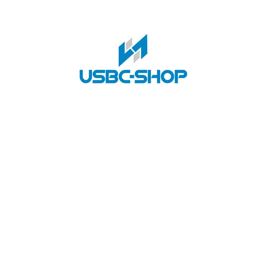 Entry 38 By Ikari6 For Design A Logo For Webshop Usbc Shop