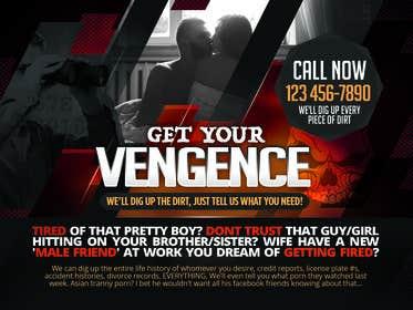 Image of                             Create a dark advertisement grap...