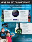 Graphic Design Inscrição do Concurso Nº46 para Brochure Design for Throttle Muscle