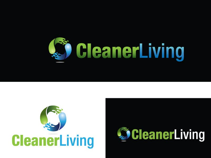 Proposition n°                                        45                                      du concours                                         Design a Logo for Cleaning Company - Clean R Living