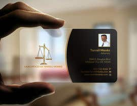 #27 cho Design Business Cards for a Law Office bởi aminur33