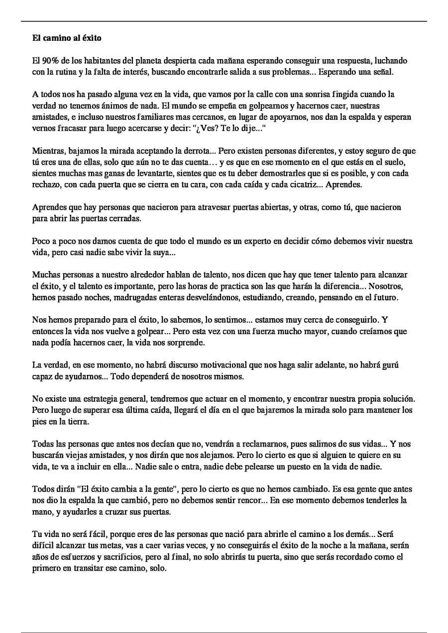 Entry 4 By Ponlepausetv For 1 Post Sobre Motivación