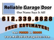Contest Entry #17 for Graphic Design for Reliable Garage Door