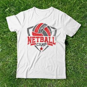 Image of                             Netball Camp T-shirt design