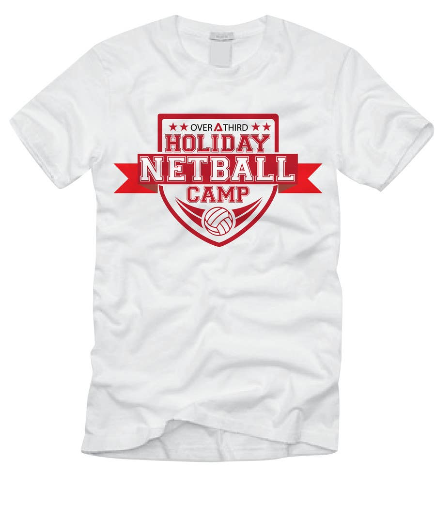 Design t shirt netball -  4 For Netball Camp T Shirt Design By Djilovedesign