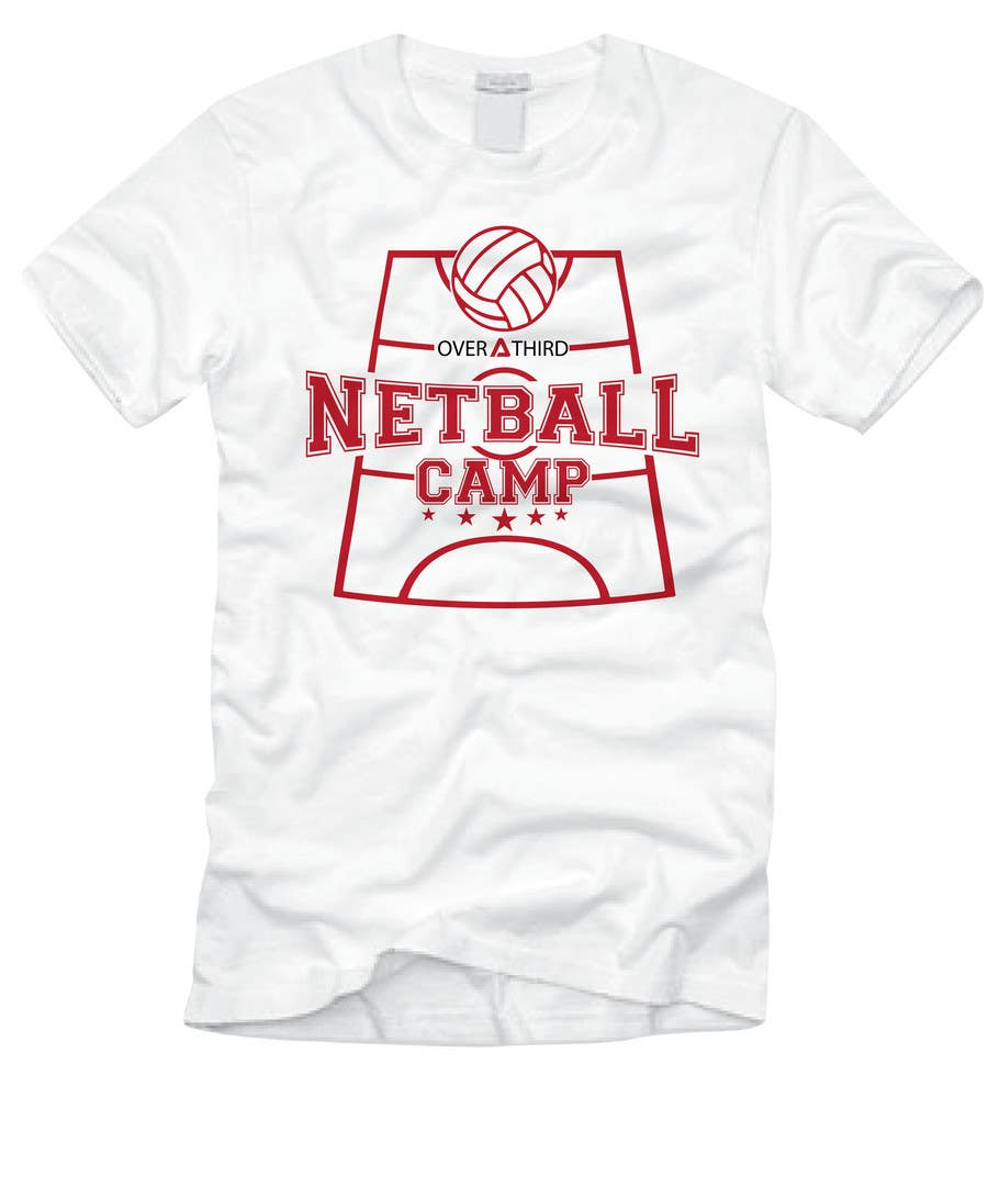 Design t shirt netball - Contest Entry 23 For Netball Camp T Shirt Design