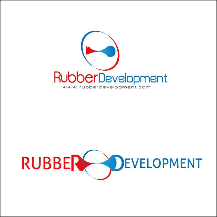Kilpailutyö #122 kilpailussa Logo Design for Rubber Development Inc.
