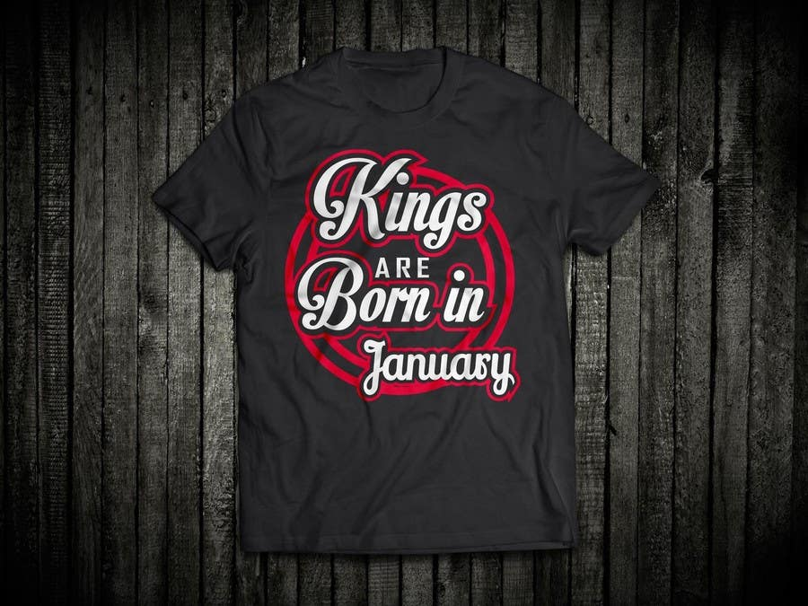 Contest Entry 46 For Design A T Shirt My Birthday Month