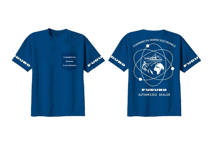 Entry #13 by Quay3010 for Design a T-Shirt for Commercial Marine