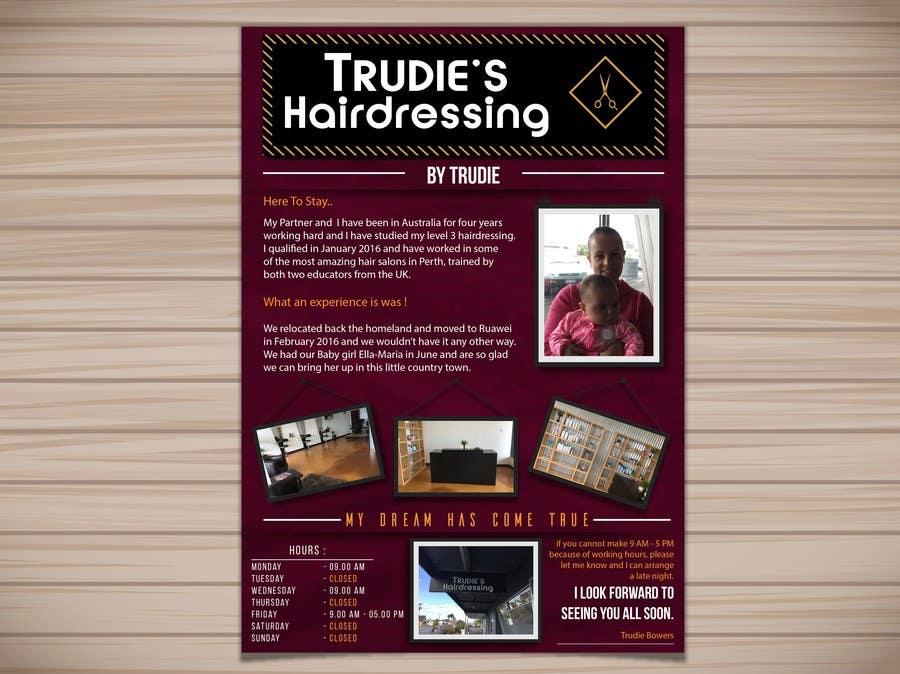 hair salon adverts
