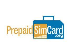 Nro 188 kilpailuun Logo Design for prepaidsimcard.org käyttäjältä winarto2012