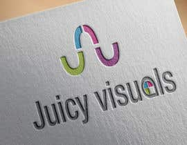 #230 for Design a Logo:  Juicy Visuals by theocracy7