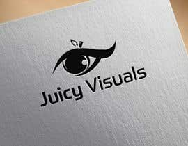 #149 for Design a Logo:  Juicy Visuals by AlyDD