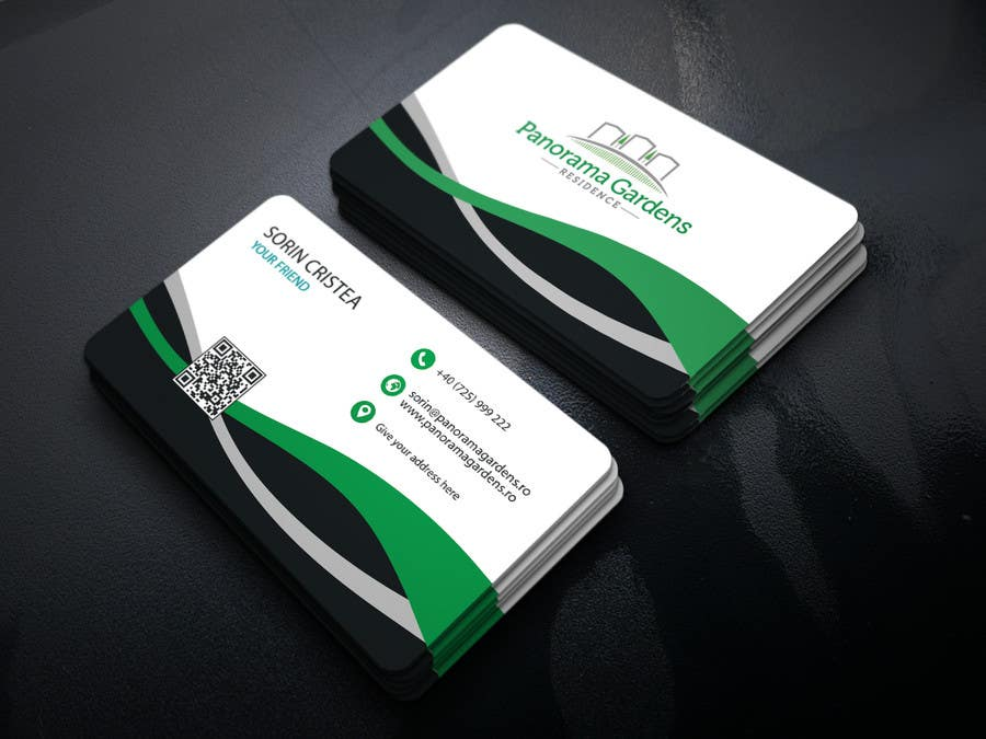 Entry #135 by muhammadrajib44 for Minimalist business card design ...