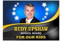 Graphic Design Inscrição do Concurso Nº26 para Graphic Design for Rudy Upshaw for School Board