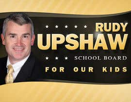 nº 53 pour Graphic Design for Rudy Upshaw for School Board par qbMDQ