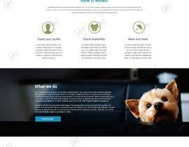 Nro 76 kilpailuun Design a Website Mockup for a pet site käyttäjältä binupaala