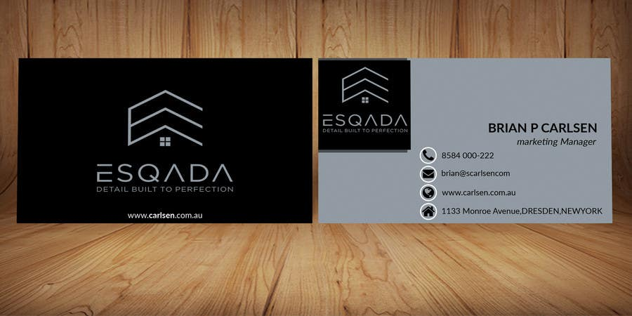 Contest Entry 24 For Design A Business Card Multi Million Dollar Real
