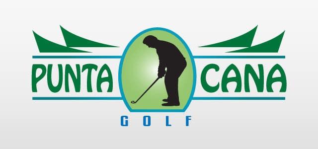 Bài tham dự cuộc thi #                                        54                                      cho                                         Logo Design for Golf Punta Cana