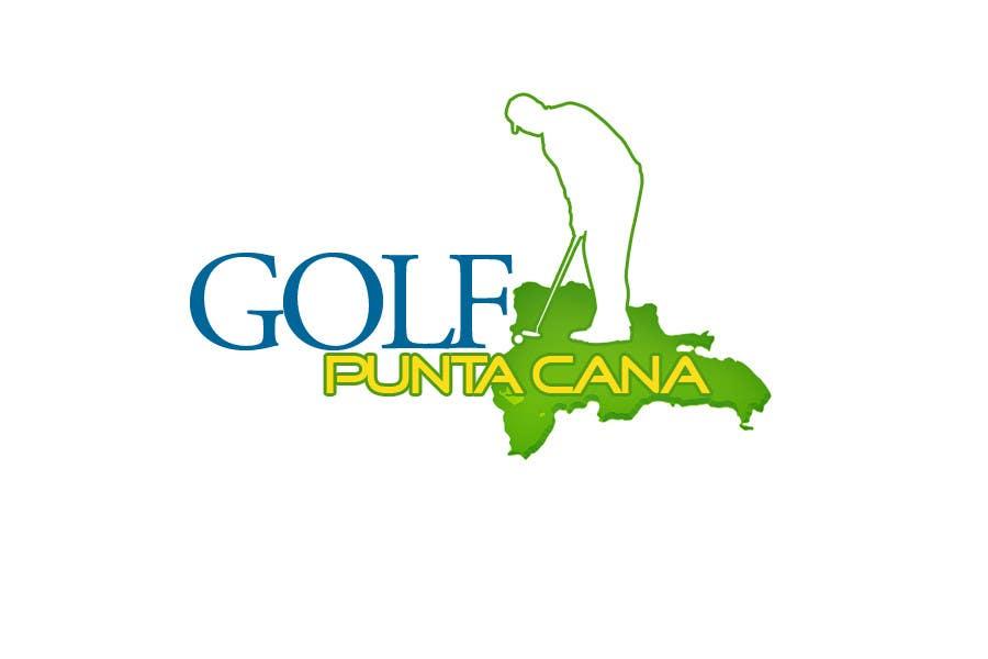Penyertaan Peraduan #                                        97                                      untuk                                         Logo Design for Golf Punta Cana