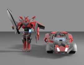 #29 cho Anime Super Robot 3D Model Textured Rigged bởi Skyzon