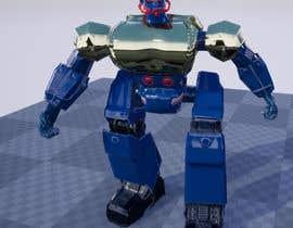 #30 cho Anime Super Robot 3D Model Textured Rigged bởi mochfar