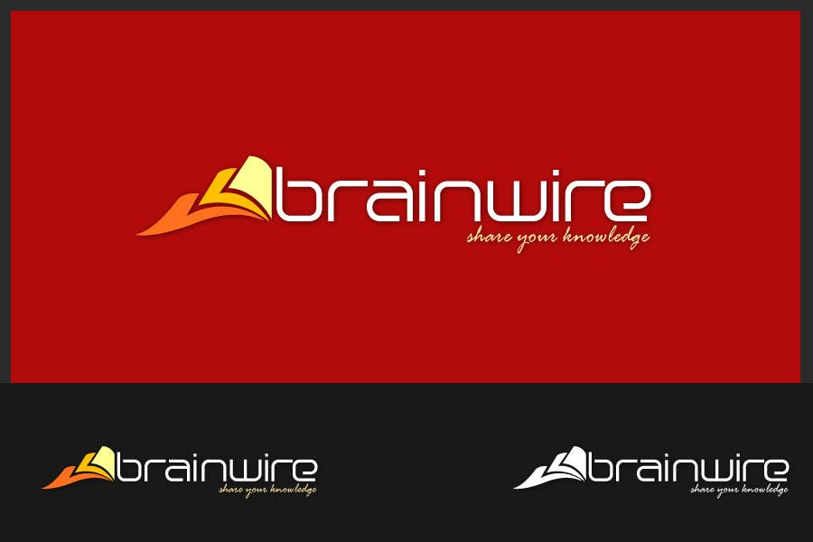 Penyertaan Peraduan #332 untuk Logo Design for brainwire