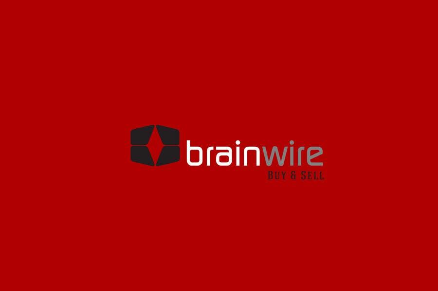 Penyertaan Peraduan #412 untuk Logo Design for brainwire