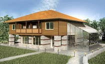Graphic Design Kilpailutyö #34 kilpailuun 3D Rendered Drawing Designs of a Real Estate Development for Linn Industries