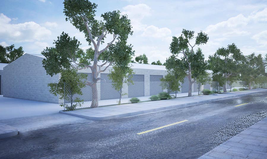 Inscrição nº                                         54                                      do Concurso para                                         3D Rendered Drawing Designs of a Real Estate Development for Linn Industries
