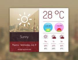 kevalpandya tarafından Widget data component design and icons for them için no 15