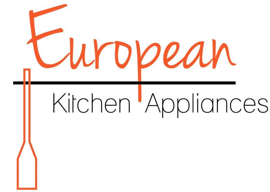 Penyertaan Peraduan #                                        56                                      untuk                                         Logo Design for A kitchen appliance showroom Retailing ovens , cooktops, range hoods, dishwashers