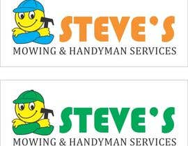 #5 для Logo Design for Steve's Mowing & Handyman Services от printographer