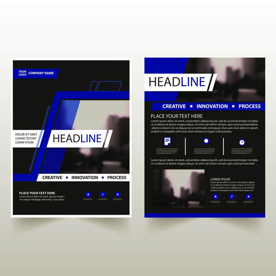 entry 2 by shovon5758 for flyer layouts for a commercial and