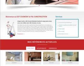 nº 4 pour Concevez une maquette de site Web pour une entreprise de peinture en bâtiment par belhajyassine05