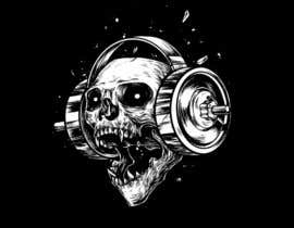 #51 for Skull T-Shirt Design by unaas