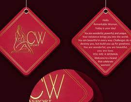 #18 para Create hang tag for clothing, backdrop, and Packaging Designs por veranika2100