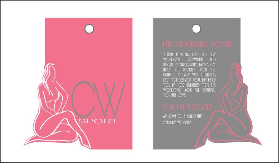 Inscrição nº                                         11                                      do Concurso para                                         Create hang tag for clothing, backdrop, and Packaging Designs