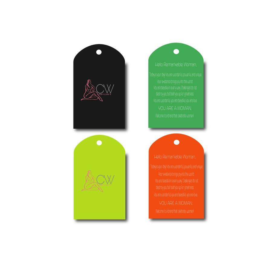 Inscrição nº                                         2                                      do Concurso para                                         Create hang tag for clothing, backdrop, and Packaging Designs