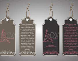 #4 para Create hang tag for clothing, backdrop, and Packaging Designs por dsavio